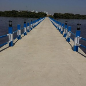 Jetty Carpeting & Light Installation