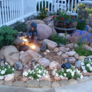 Garden -Rockery -Pond -Fountain -Designing & Development