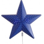 Kids Wall Lamp - Blue Star Shape