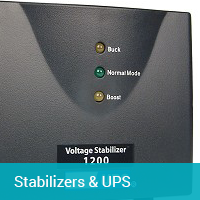 Stabilizers & UPS