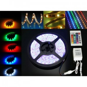 LED Flexible Strip 5050 RGB 300 LED 5 Meter 12V