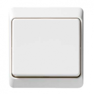 Flush Switch 1 Gang 2 Way White Pieno Schneider