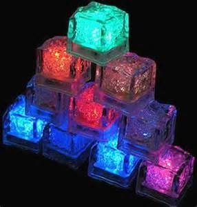 Flash ice cubes