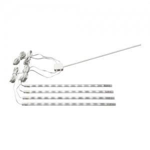 DIODER LED 4-piece lighting strip set, white