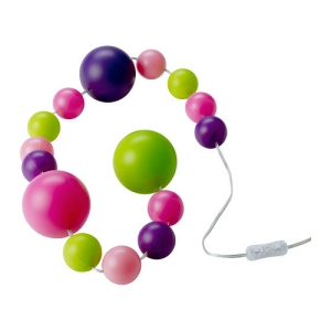 FINFIN LED decoration light chain 15 balls