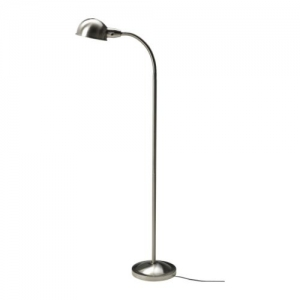 FORMAT Floor/reading lamp, nickel-plated