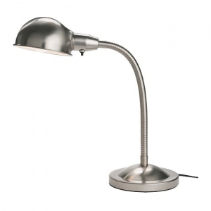 FORMAT Work lamp, nickel-plated